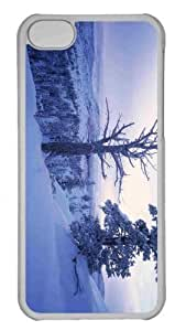 Customized iphone 5C PC Transparent Case - Winter Scenery 7 Personalized Cover
