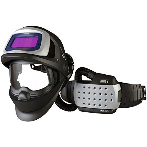 SPEEDGLAS 9100 FX AIR Schweißmaske Schweißhelm mit ADFLO Atemschutzsystem, Größe:54 x 107 mm