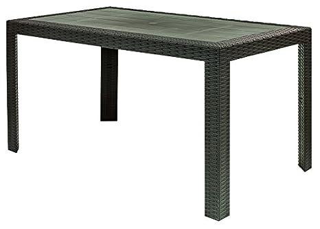 Tavoli Da Giardino Risparmio Casa : Areta ar014 urano decorazione rattan tavolo plastica 140 x 80 x 72