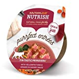 Rachael Ray Nutrish Purrfect Entrees Grain Free Natural Wet Cat Food Fin-Tastic Primavera with Yellowfin Tuna & Veggies in Savory Sauce, 2 oz (Pack of 6) Review