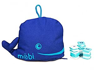 Mobi - The Numerical Tile Game in a Whale Pouch by MÖBI