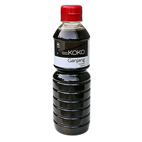 Koko Ganjang, (Traditional Fermented Korean Soy Sauce) 16.9 Ounce (500 Milliliter) Kosher, Gluten Free Artisanal