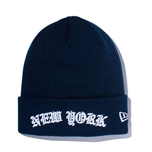 (ニューエラ) NEW ERA ニット帽 カフ NEW YORK ARCH LOGO ネイビー FREE