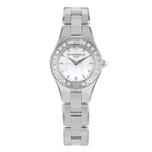 Baume & Mercier Linea Mother of Pearl Stainless Steel Ladies Watch M0A10078
