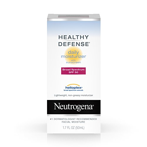 Healthy Defense Daily Moisturizer With Sunscreen Broad Spectrum Spf 50