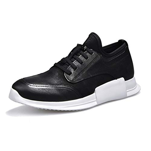 Mens Trainers Shoes Leather Running Walking Gym Gym Gym Shoe Sport Sneakers Air Trainers Jogging Fitness Shock Absorbing... B07GLVHB4M Shoes d6ab5a