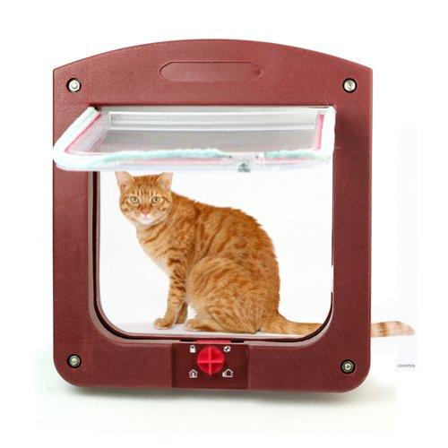 Pinzhi® Nuevo 4 Vías Puerta Gatera Túnel para Pequeño Perro Gato Mascota Buena Venta