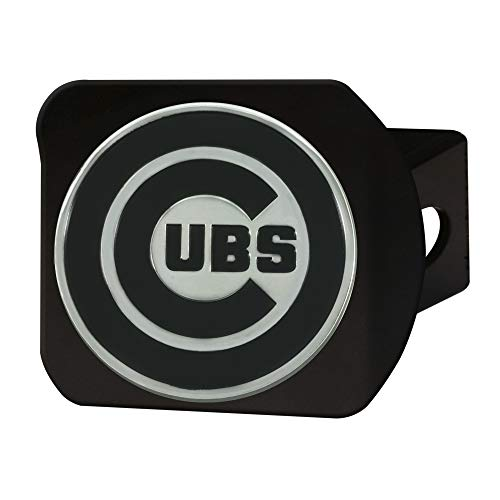 FANMATS MLB - Chicago Cubs Hitch Cover - Black