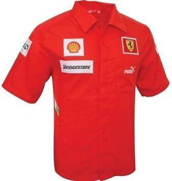Puma Team Ferrari 760212 Camisa Roja Mis. M: Amazon.es: Deportes y aire libre