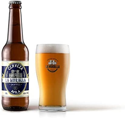 Cerveza artesana La Muralla Doppel 33cl