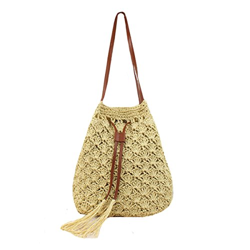 Crochet Drawstring Purse - 9