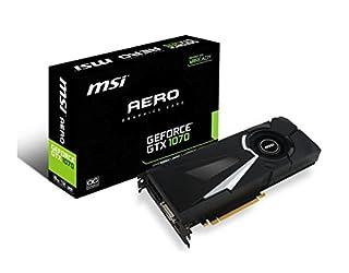 MSI Gaming GeForce GTX 1070 8GB GDDR5 SLI DirectX 12 VR Ready Graphics Card (GTX 1070 AERO 8G OC) (B01GUAJMRU) | Amazon price tracker / tracking, Amazon price history charts, Amazon price watches, Amazon price drop alerts