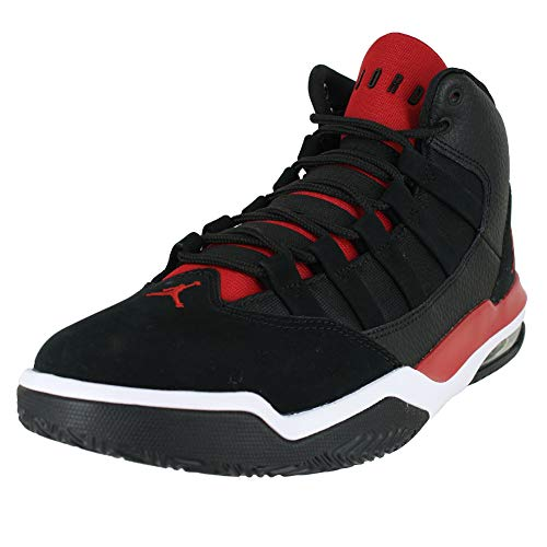 red and black jordans - 6