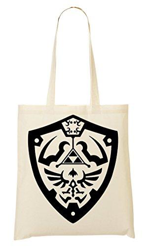 The Legend Of Zelda Hylian Shield Handbag Shopping Bag