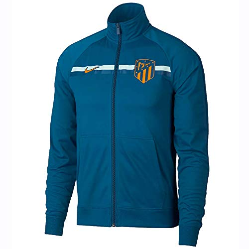 (Nike 2018-2019 Atletico Madrid Core Trainer Jacket (Green Abyss))