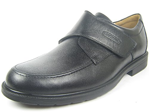 Solidus Men's Loafer Flats Black RKOfN
