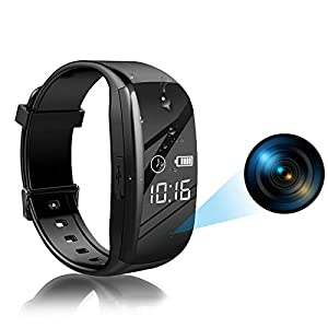 Binrrio Hidden Camera Spy Watch