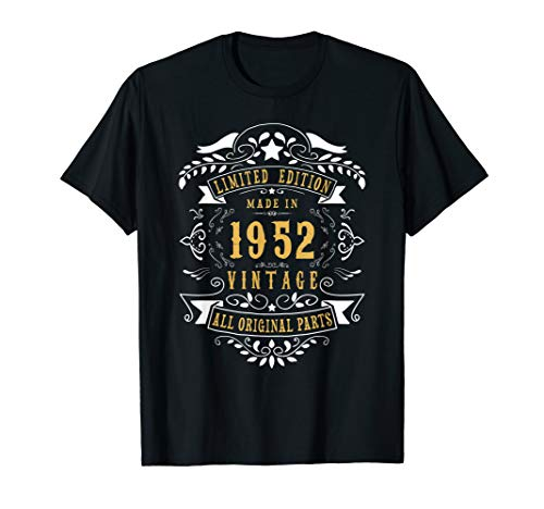 67 years old Made in 1952 67th Birthday Gift T-Shirt