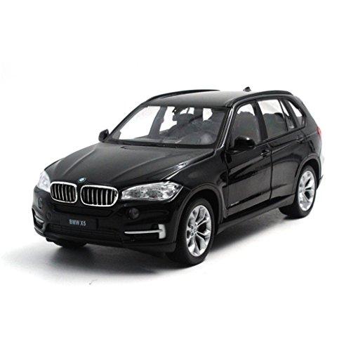 124-welly-bmw-x5-black-diecast-metal-model-car-new-in-box