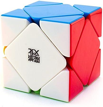 Mayatras YJ Moyu Magnetic Skewb Stickerless Magic Puzzle Cube