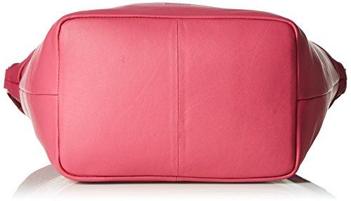BREE Damen Fantastic 4 Henkeltaschen, 25x40x20 cm Pink (Fuchsia 130)