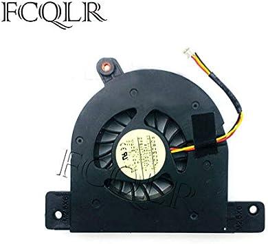 FCQLR Ordenador portátil Ventilador para Toshiba Satellite A135-S2336 Ordenador portátil CPU enfriamiento Ventilador Cooler: Amazon.es: Electrónica