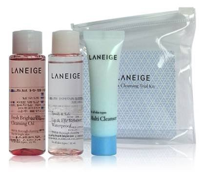 Laneige Cleansing Trial Kit 3 Items