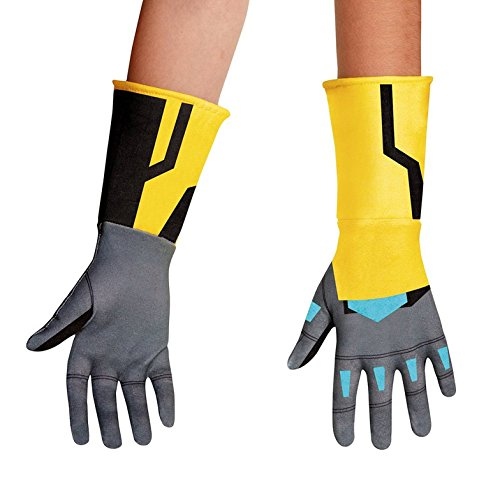 Disguise Bumblebee Animated Gloves Costume, One Size (Bumble Bee Child Gloves)