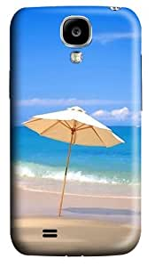 Protective Case for Samsung Galaxy S4 Beach Umbrella Polycarbonate Back Cover Hard Case for Samsung Galaxy S4 / SIV / I9500