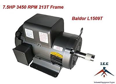 L1509t 7.5 Hp, 3450 Rpm New Baldor Electric Motor Air Compressor
