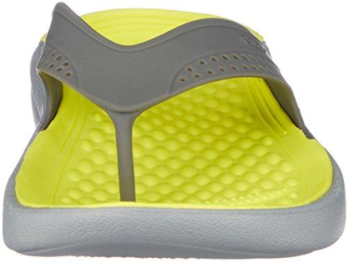 Unisex Literide U Grey Grey Zapatos Adulto Piscina light Playa De Crocs Y Flip Slate f8xnOwR8dE