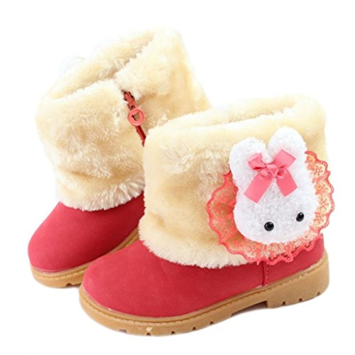 Faux Fur Christmas Boot - 7