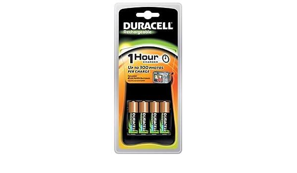 Duracell CEF80 - Cargador (AA/AAA, 1h, Negro): Amazon.es ...
