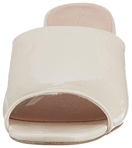 Bianco Mule Beige in Damen Cream Pantoletten Slip wSvq61xRw