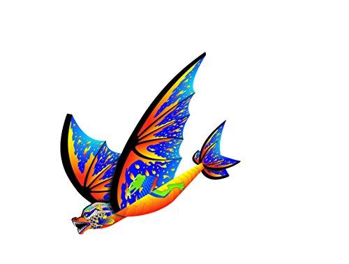 "X-Kites 16"" FlexWing Cyan Dragon Glider"