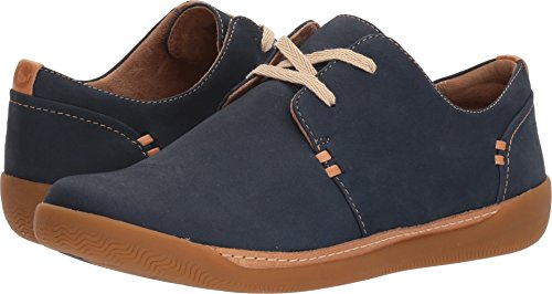 Womens Haven Nubuck Navy CLARKS Un Lace UzqdxRw