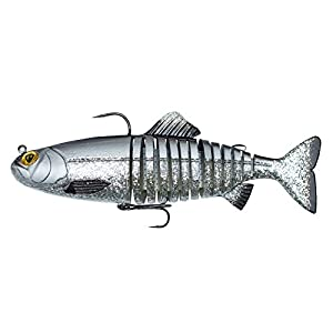 Fox Rage Replicant Jointed Swimbait Wobbler for spin fishing, pike bait for spin fishing, rubber wobbler for pike fishing