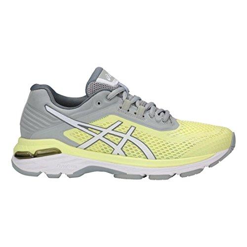 Asics Frauen Gt-2000 6 Schuhe Limelight/White/Mid Grey