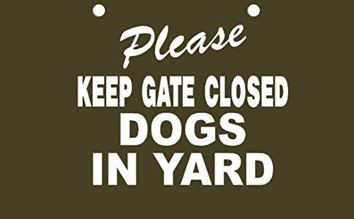 Please Closed Decorative Sign pre drilled