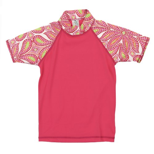 Point Conception Girls Magic Glass (GRO) Rashguard XL Red/Orange by Point Conception Kids