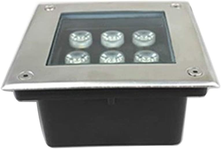 AMDHZ Foco Empotrable de Suelo LED Lámpara De Camino Paisaje LED Impermeable A Prueba Polvo Aislamiento Césped La Carretera,7 Colores,8 Potencia (Color : B, Size : 16W)