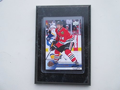 Richard Panik Chicago Blackhawks Topps 2017 player card mounted on a 4