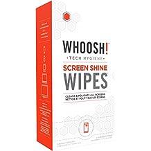 WHOOSH! Screen Shine WIPES 30 Wipes with 2x Mini W! Cloths