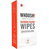 Whoosh! Screen Shine WIPES 30 Wipes with 2x Mini W! Cloths