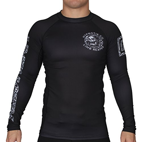 Hypnotik Limb Reaper Rash Guard - Black - 3X-Large ()