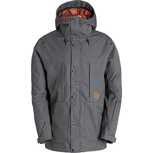 Billabong Men's North Poleshell Snow Jacket, Anthracite, Large (Billabong Snow Jackets)