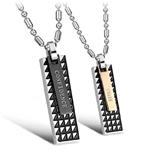 amazoncom cute matching necklaces for girlfriend and