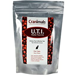 Cranimals UTI Test Kit For Cats - 2 tests