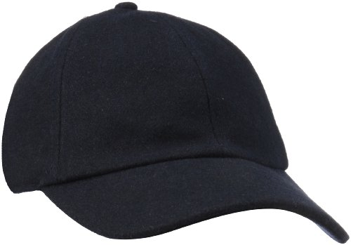 Grey Wool Hat - San Diego Hat Company Women's Wool Baseball Hat with Adjustable Back, Navy, One Size