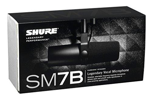 41kpR8iFwrL - Shure SM7B Vocal Dynamic Microphone, Cardioid